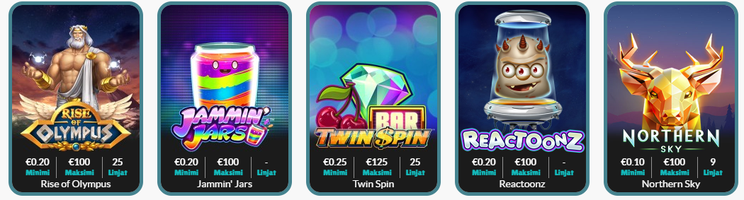 slots at cashmio