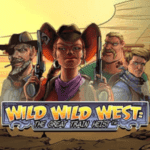 Wild Wild West the great train heist fi logo