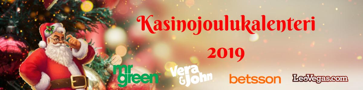 2019 Kasinojoulukalenteri
