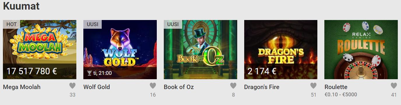 casino games unibet