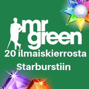 mrgreen 20 free spins