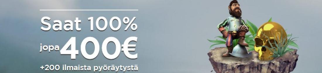 casino.com 100% bonus 400€ asti + 200 free spins