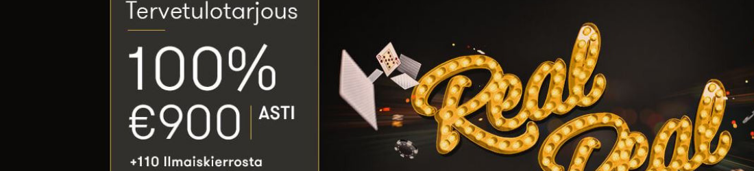 intercasino €900 bonus + 110 free spins