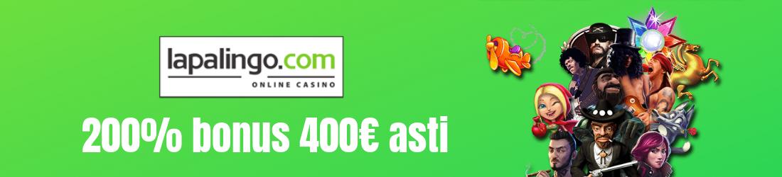 200% bonus 400€ asti