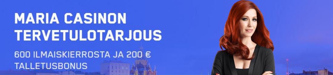 maria 100% bonus 200€ asti