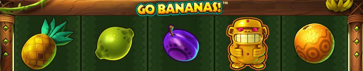 go bananas FI kolikkopeli