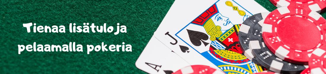 pelaamalla pokeria