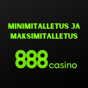 min deposits 888 casino