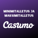 min deposits casumo casinolla