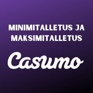 min deposits casumo casinolla